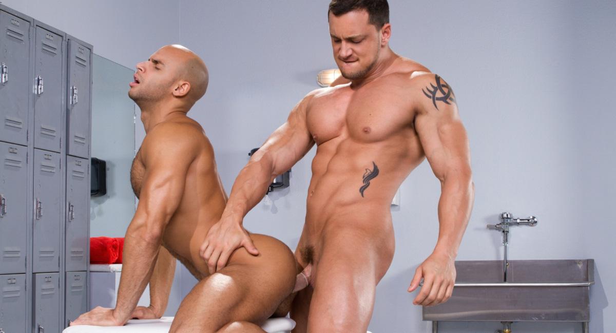 Sean Zevran & Joey D in Beef Squad, Scene 01 - RagingStallion Hot sexy massage porn