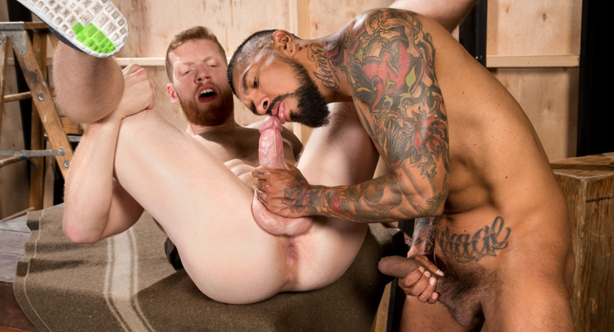 Boomer Banks & Cass Bolton in Backstage Pass, Scene 01 - RagingStallion where can i fuck girls through my monitor
