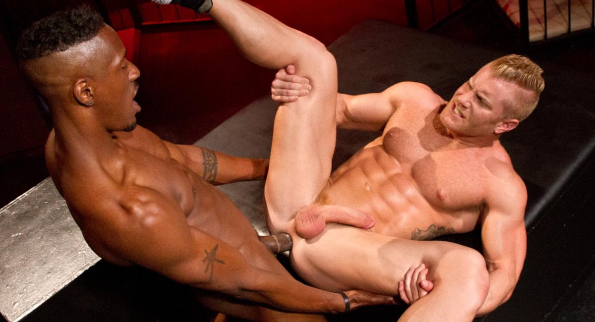 Johnny V & Derek Maxum in Labyrinth, Scene 03 - RagingStallion hot hot asses