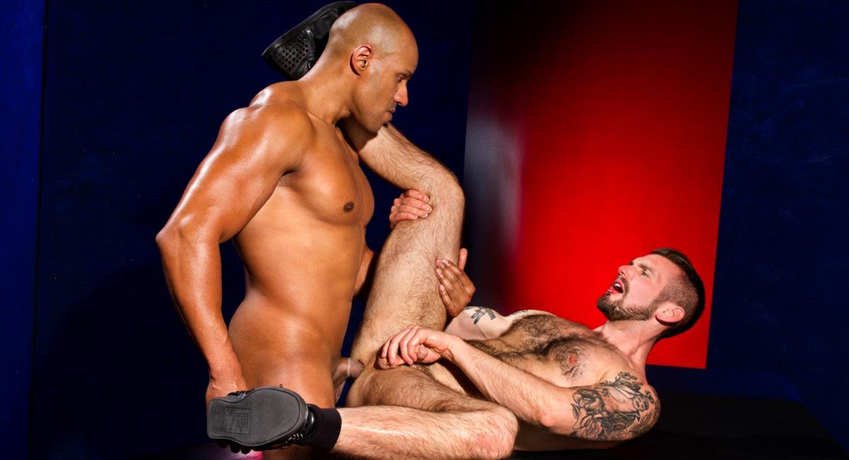 Chris Harder & Michael Thomas in Labyrinth, Scene 02 - RagingStallion gina gerson back door and gina gerson porn sex photos