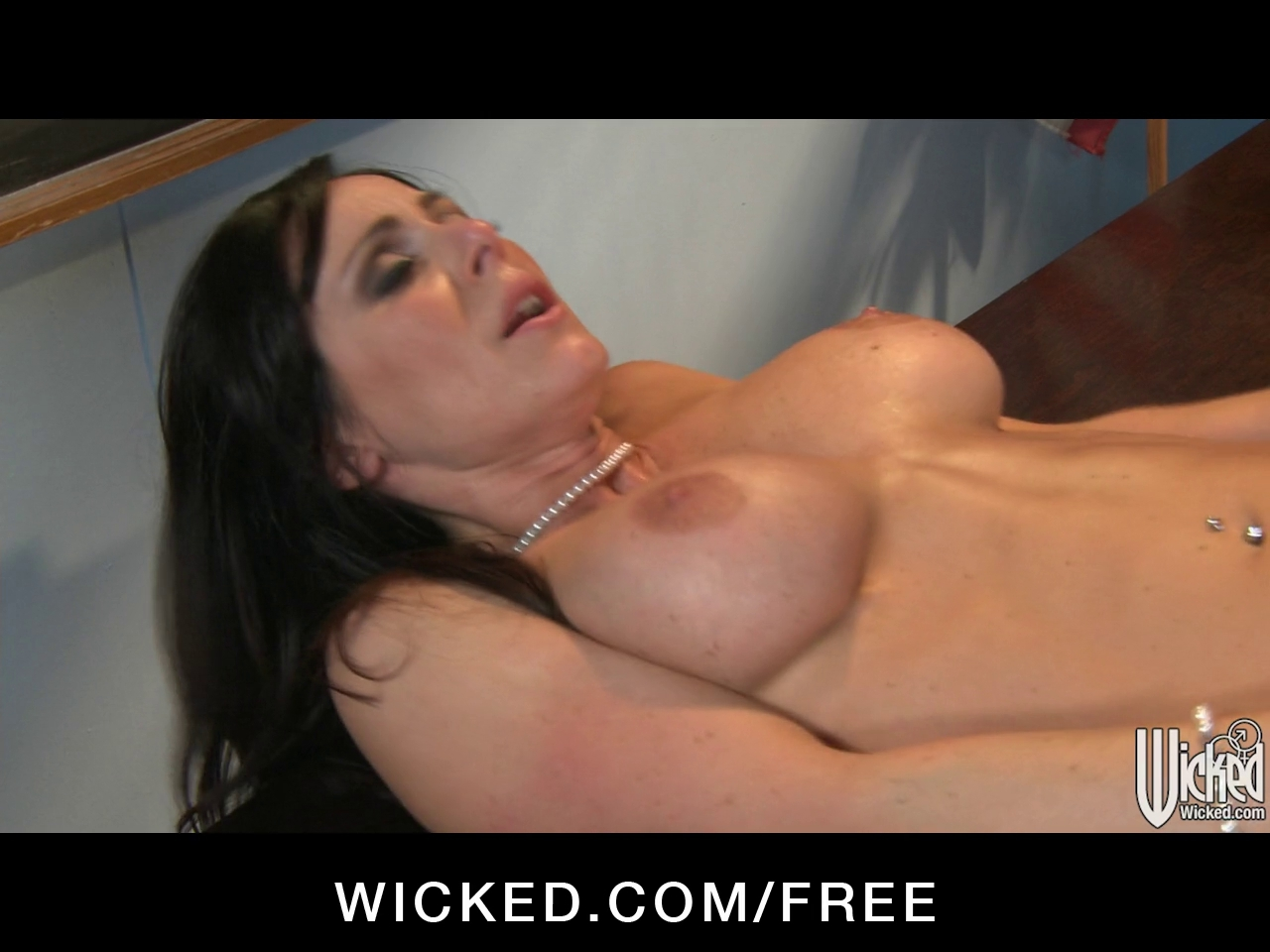 Strict brunette hair teacher gives punishes her student in class Criss cross sex position