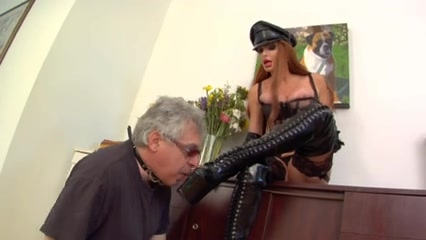Busty dominatrix and her elderly slave having fun Speed dating events winston salem nc