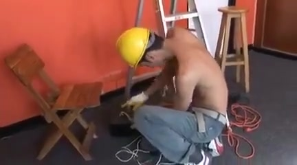 Follado por el chico electricista perfect solo masturbation stunts