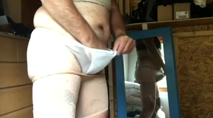 Wanking in my wife s panties and girdle Hot Wife Massage Stories