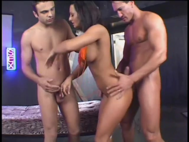 A Horny Slut Gets Double Teamed Most shocking sex movies