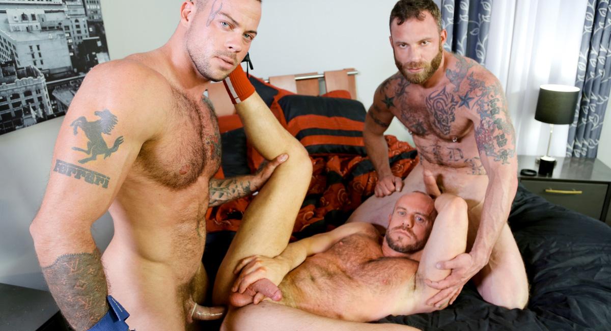 Sean Duran & Matt Stevens & Derek Parker in Special Massage Video - MenOver30 video russian mature mom