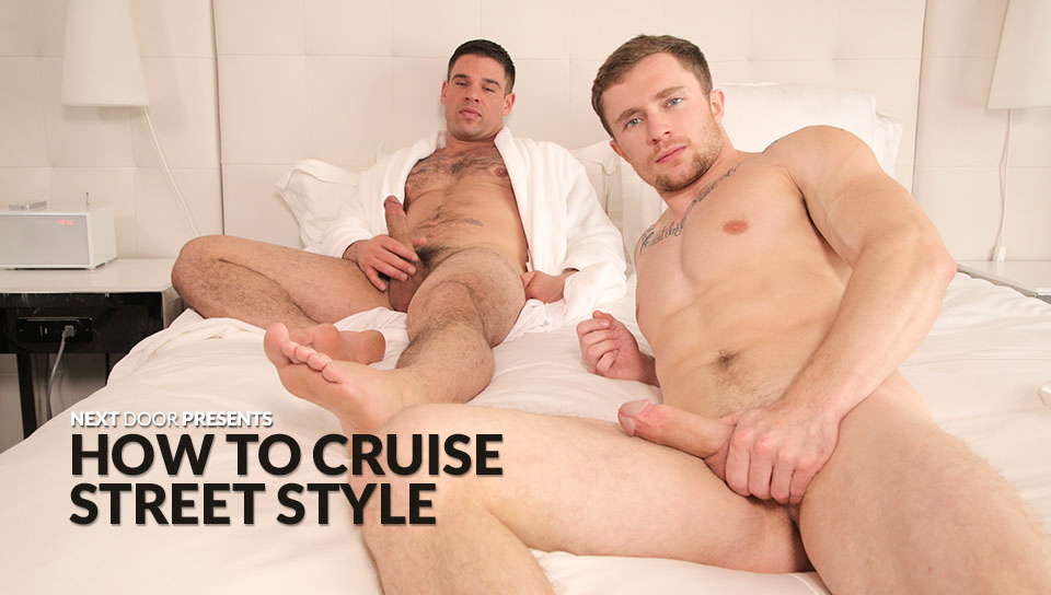 Markie More & Derek Atlas in How To Cruise Street Style XXX Video - NextdoorBuddies non nude porn galleries