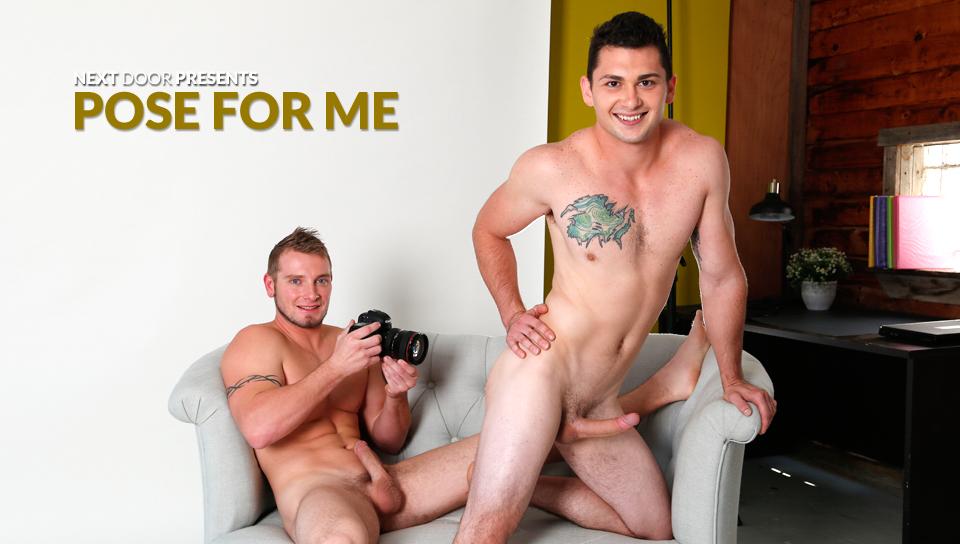 Jake Karhoff & Johnny Riley in Pose For Me XXX Video - NextdoorBuddies Taylor steele xl girls