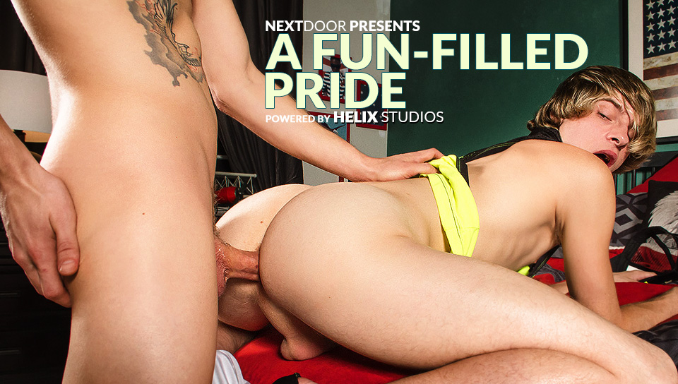 Max Carter & Jessie Montgomery in A Fun-Filled Pride XXX Video - NextdoorTwink Free Download Hookup Simulation Games Pc