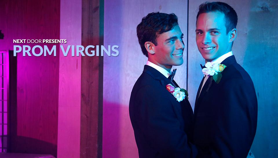 Garrett Cooper & Max Penn in Prom Virgins XXX Video - NextdoorTwink Asian girls big coclk