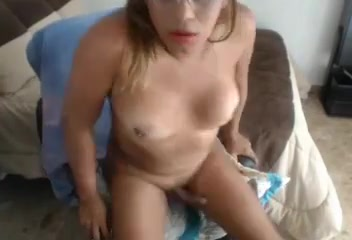 Chubby colombian shemale