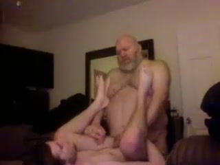 Chubby grandpa and sweet submissive boy Sexo solo salidas en Orense