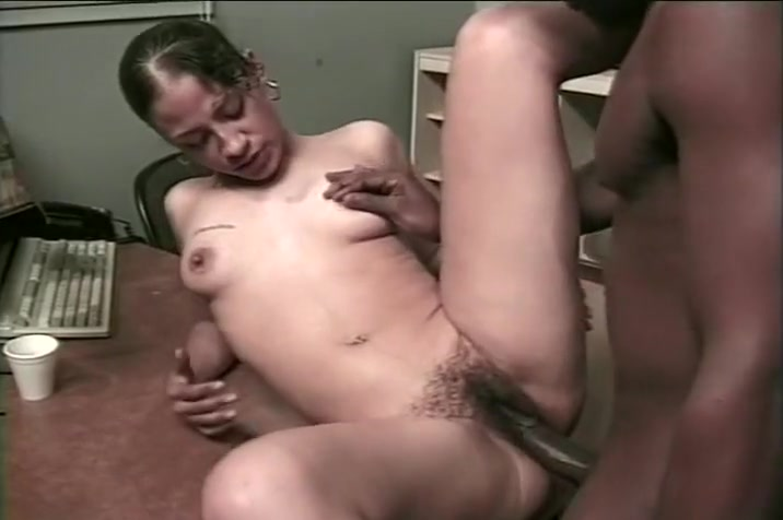 Buck Adams Beotch Black midget cock