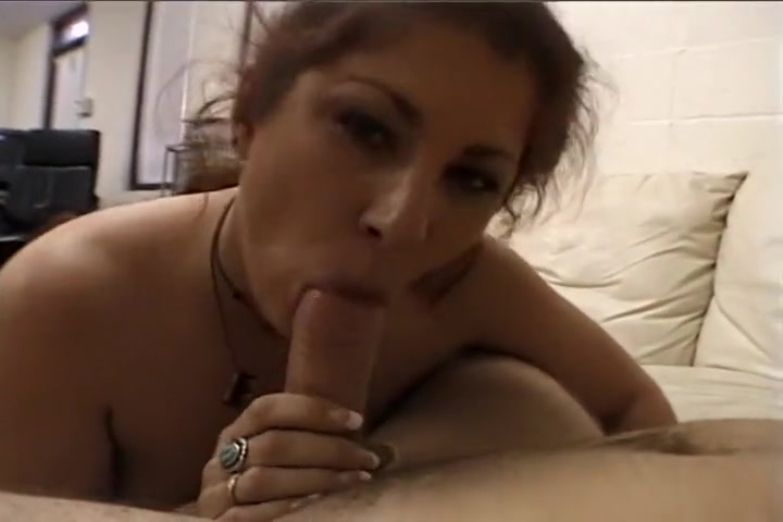 Brown Haired Dick Licker Loves Hot Cum
