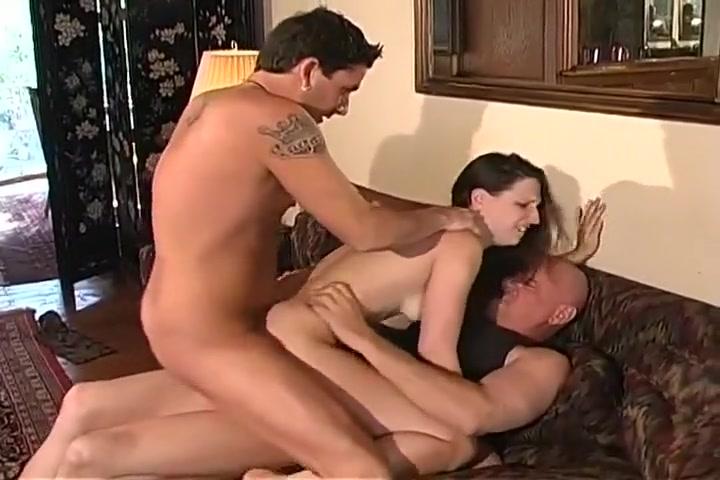 Sexy Wife Takes On Three Big Cocks