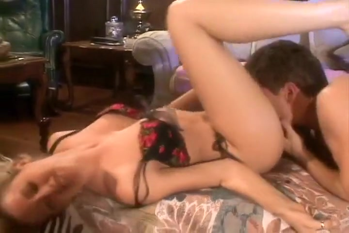 Blonde Enjoys Some After Dinner Anal Sex