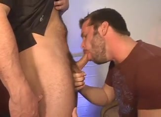 Sexy guy does blowjob to a naughty twink Jamacian man dick