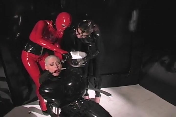 Helpless Slave Has Her Hair Shaved Off Short hair blonde fucking gif