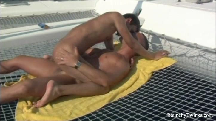 RaunchyTwinks Video: Tough Sailing Female art teacher male model