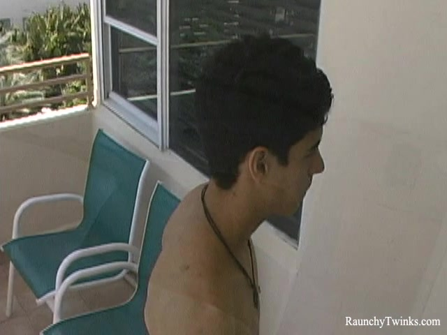 RaunchyTwinks Video: Enrique Garcia sunbathes solo nepali girls naked