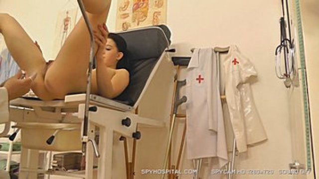 Lousy gynecologist spying on teen patient Audrey bitoni doctor