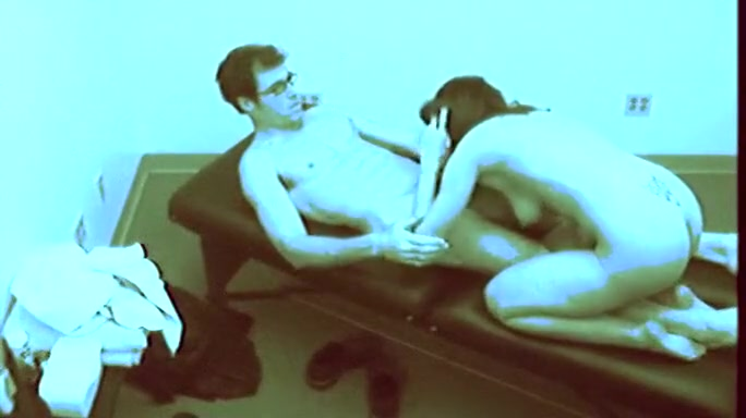 Sexy Brunette Screwed On Massage Table