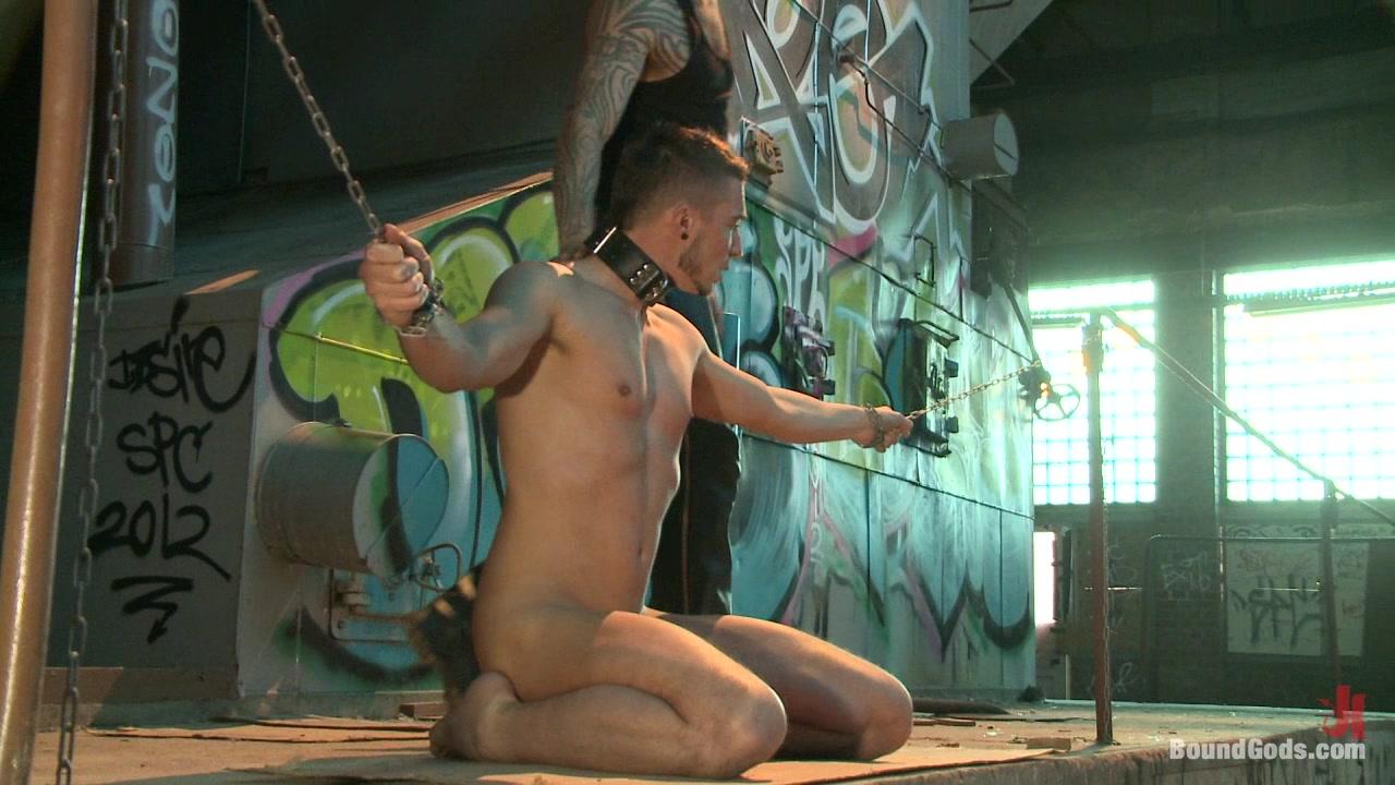 BoundGods : Fleischfabrik Berlin Part Two with Logan McCree tender breasts your period