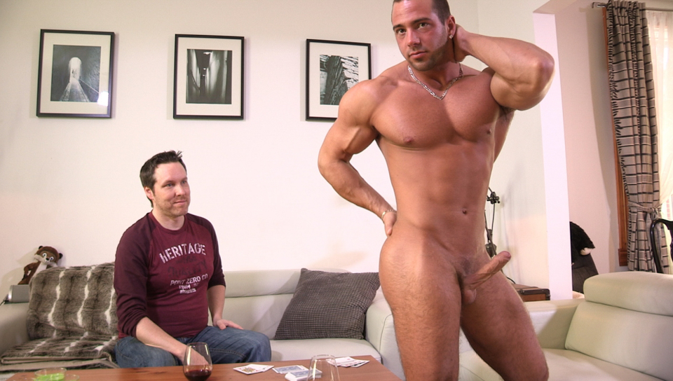 JP & Pascal in Full House And A Mouthful XXX Video - MaskUrbate Honey wilder is horny