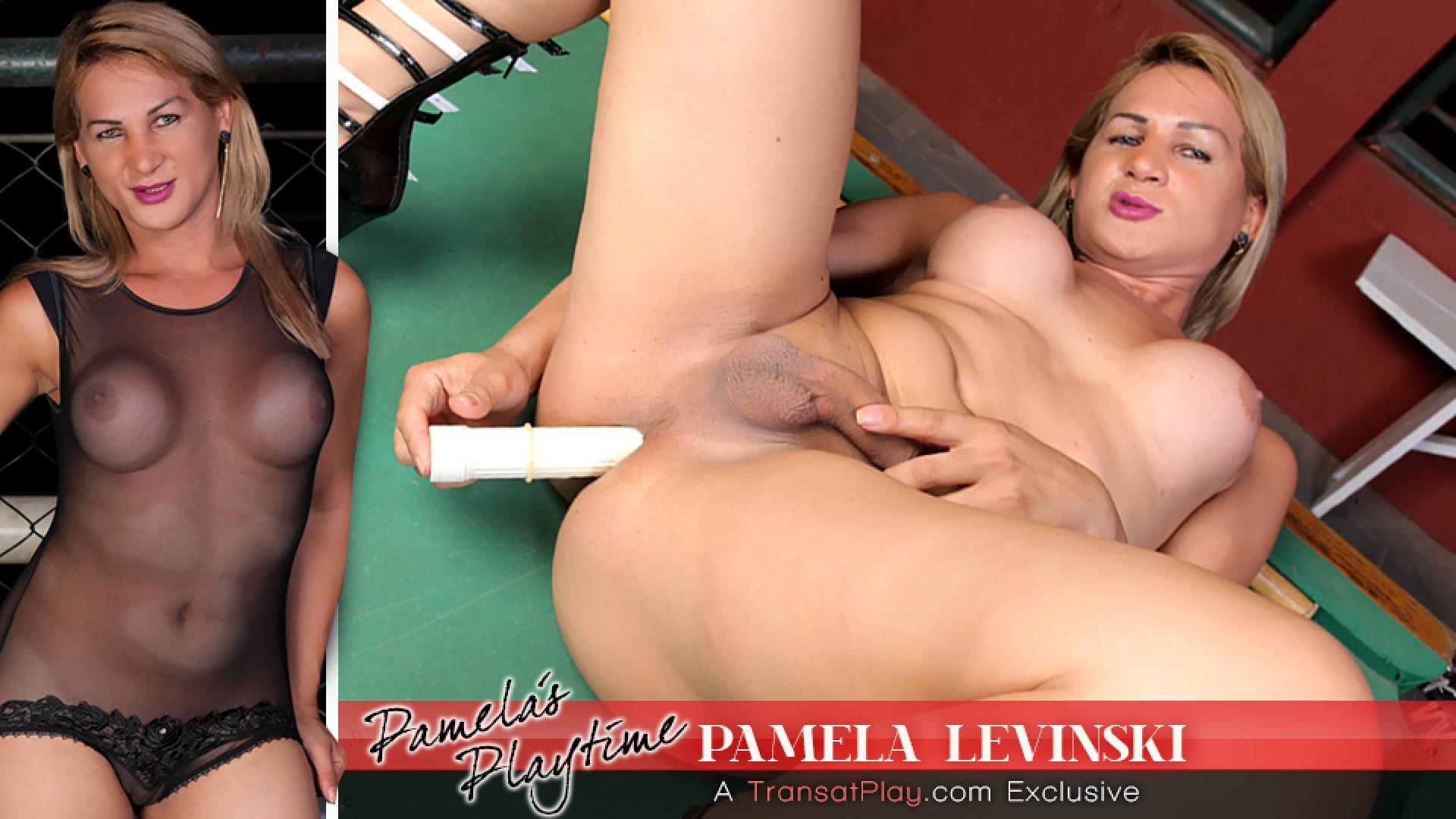 Pamela Levinski in Pamelas Playtime - TransAtPlay Best Teen Fuck Forever