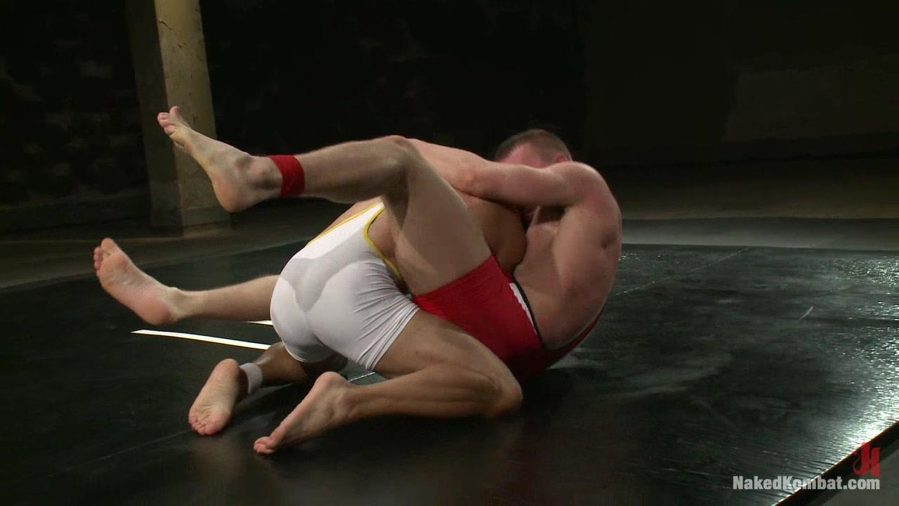NakedKombat Cameron Adams vs Gianni Luca gentle seductive anal massage