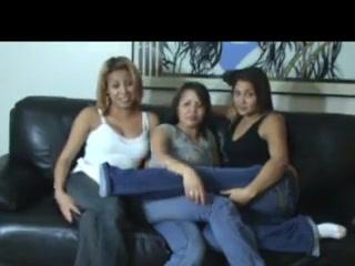Three spanked women