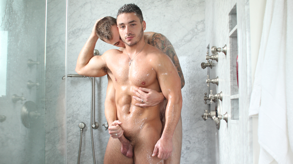 Marc Dylan & Christian Wilde in Fresh & Clean - ManRoyale Any ladies want a hot cumbath in Aswan