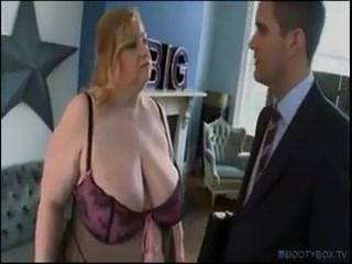 BBW Brit Wants Cum On Her Big Fat Tits porn wives having sex with other men