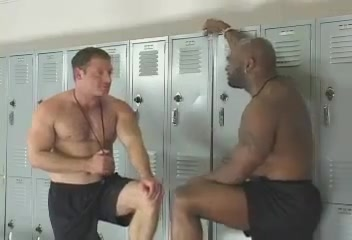 Orgy Interracial in the Locker Room wizaed of oz porn