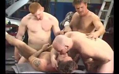 Horny Mechanics in Orgy Amateur fetish mature milf porn