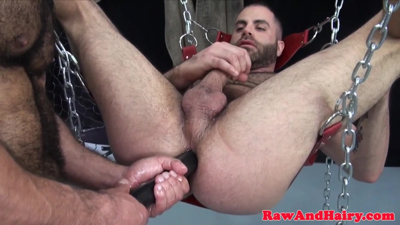 Strong bears dicksucking and dildo analplay art of steel strip district