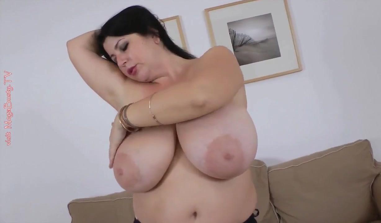 Huge Natural Tits Strapon