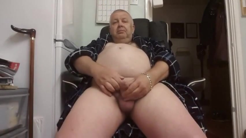 Grandpa cum on cam 7 Videos of my spanked butt