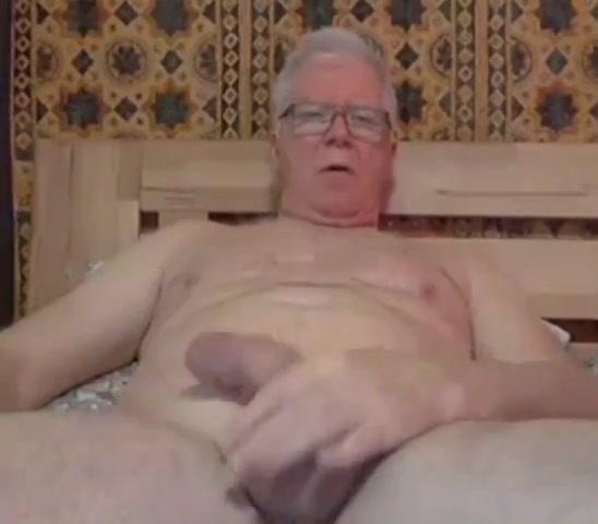 Grandpa stroke and play with a dildo black men fuck thai girl