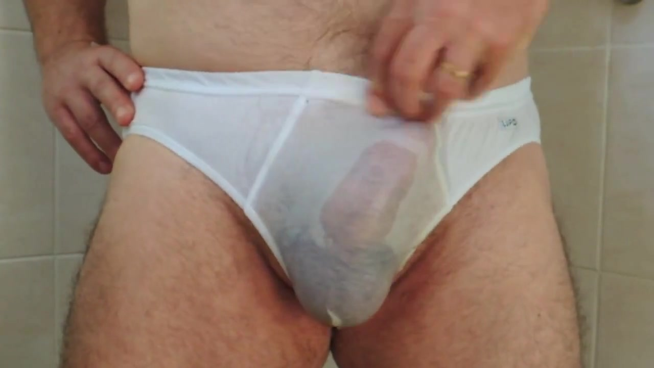 Peeing in some Underwears free video of bisexual sluts