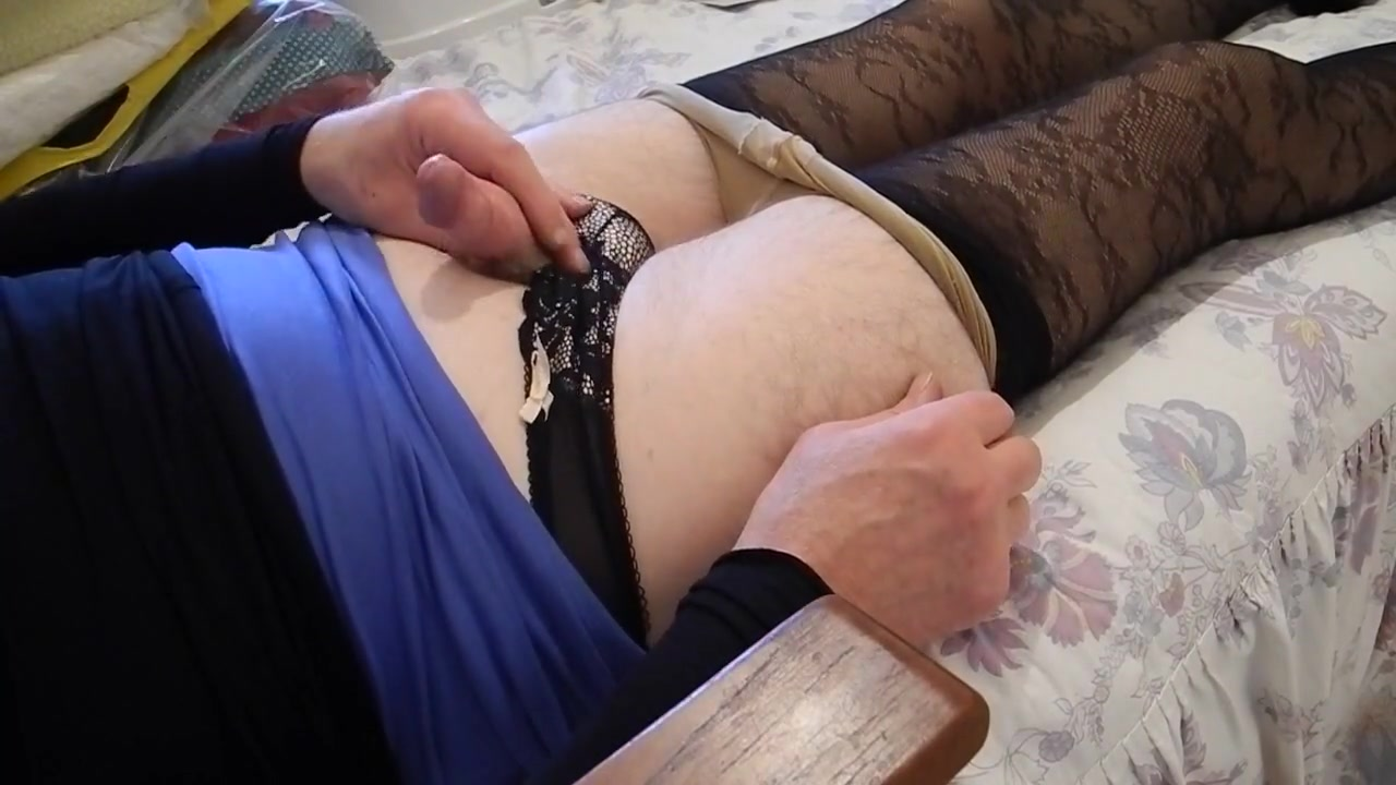 Sissy pleases herself Sexiest ass and pussy