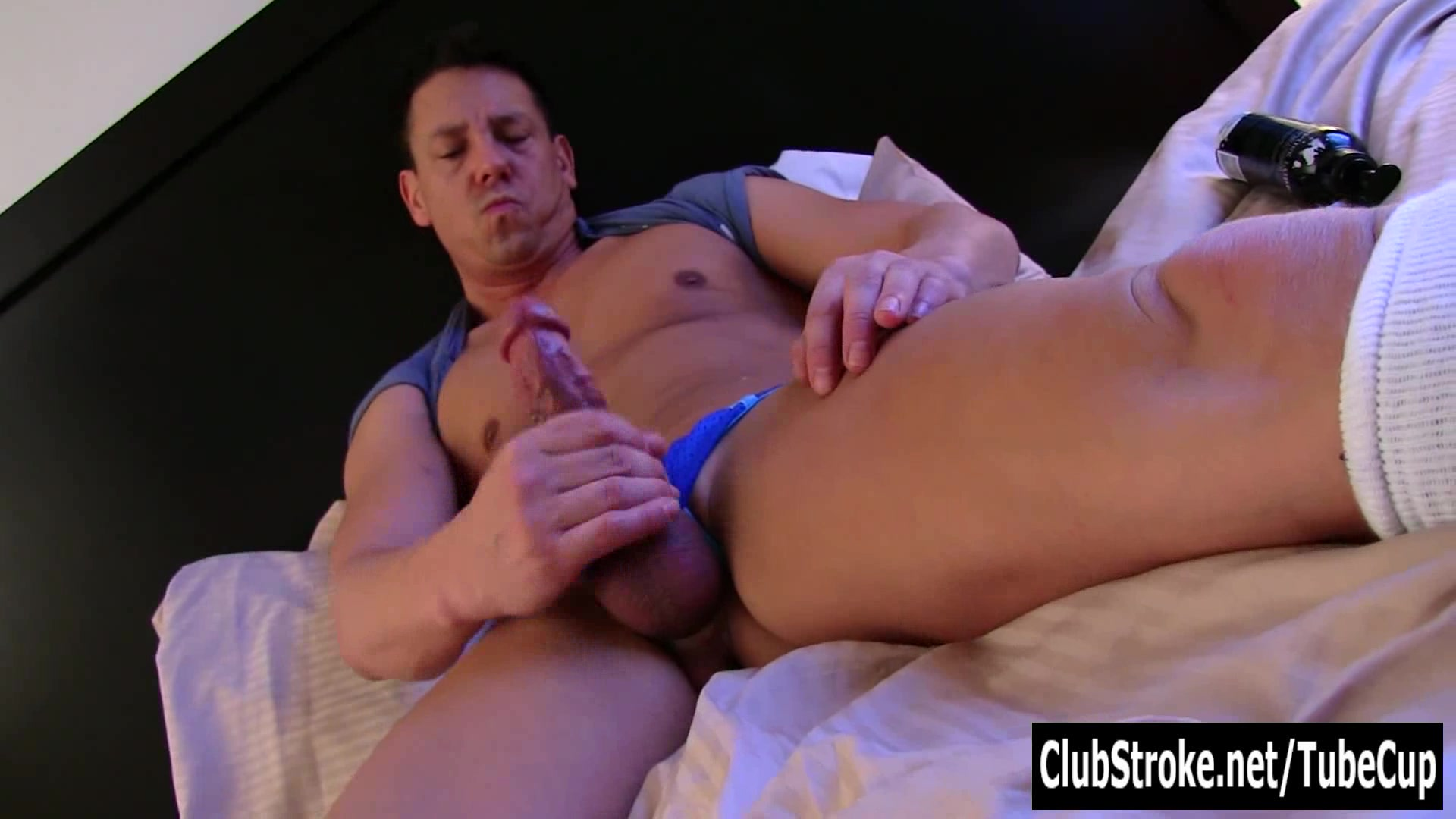 Handsome Straight Ryan Jerks His Giant Cock porn gay monster cock