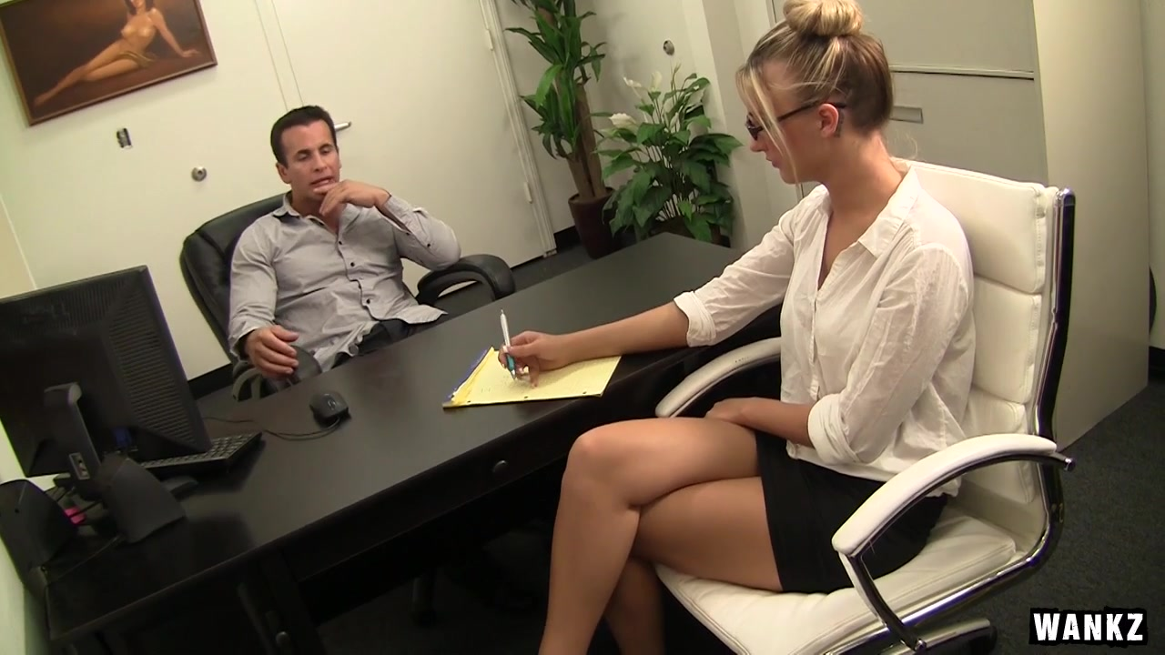 Cute Blonde Office Bitch Hailey Fucked