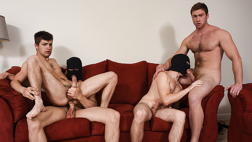 Connor Maguire & Jason Maddox & Johnny Rapid & Will Braun in Stealing Johnny Part 3 - JizzOrgy French lick hotel and resort