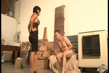 Kinky brunette in hot foot fetish action suny leon porn video
