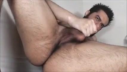 Sexy hairy wanker 14 Silk panty gag bondage