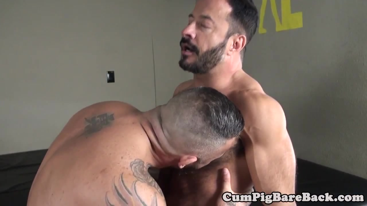 Mature dilf bear barebacked by pierced top small tits large aereolas