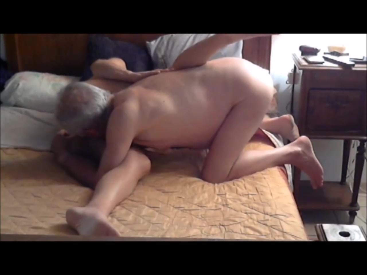Kinky Blonde Enjoying his Much Older Cock When your ex is on a dating site