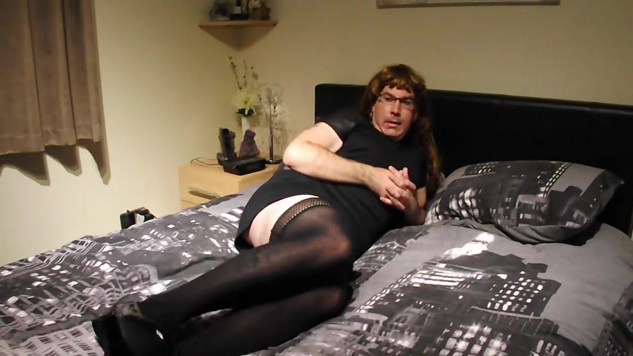 Crossdresser anal masturbation First time penetration video free
