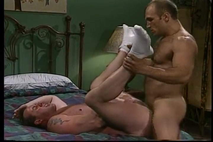 Two muscular hairy guys get sweaty with each other Mature old spunkers smoking